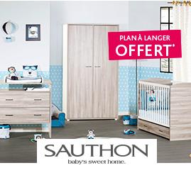 Chambre  Vintage Silex Sauthon Plan à langer offert*